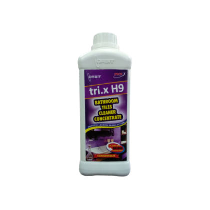 tri.x H9-Bathroom Cleaner Concentrate | Tap, Tiles Rust, Stain Cleaner- ORBIT
